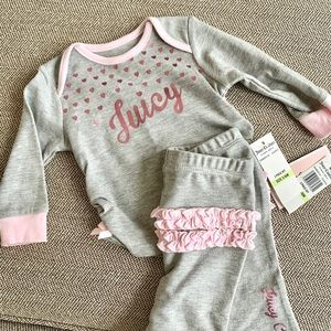 Juicy Couture Baby 2 piece set